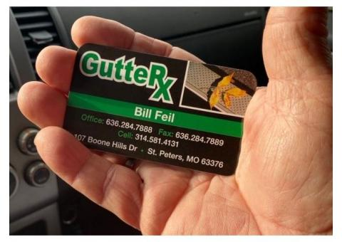 Gutter Service, Repair, Leaf Protection