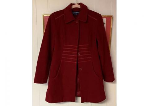 Herman Kays Red Woman's Jacket