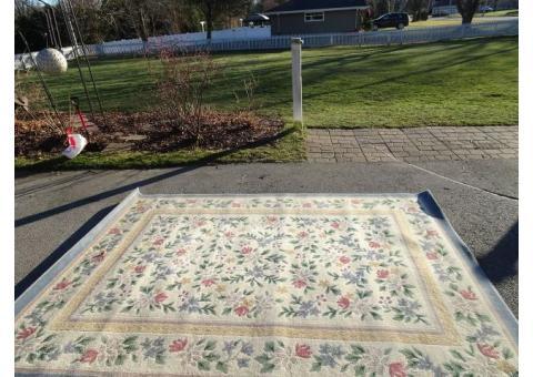 """Area rug (2) - 7'8"""" X 10'9"""", 2'3"""" X 3'10"""""""